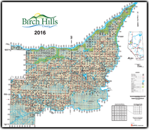 2011 Map of Birch Hills County